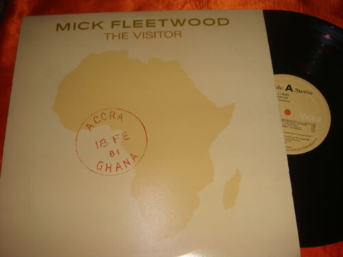 MICK FLEETWOOD, The Visitor, 12-inch Vinyl LP, 33 rpm, Made in Malaysia