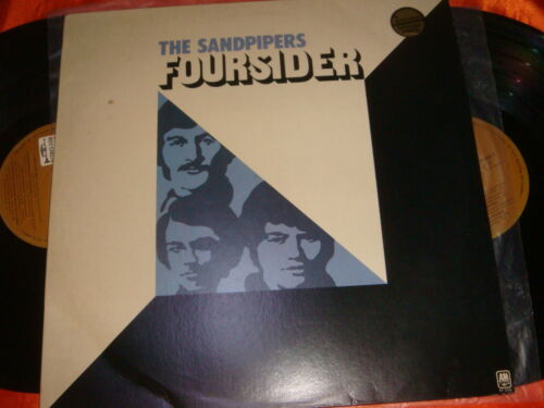 THE SANDPIPERS, FOURSIDER, 12-inch Double LP Vinyl Records, 33 rpm, Made in USA