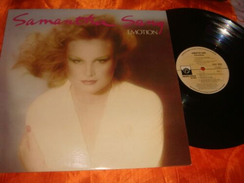 Samantha Sang, EMOTION, 12-inch Vinyl LP Record 33 rpm, Made in Australia