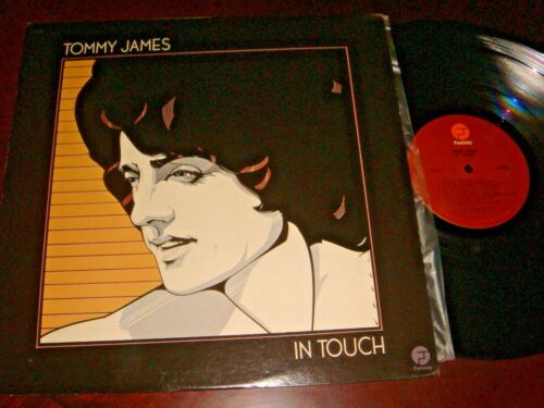 Tommy James, IN TOUCH, 12-inch vinyl LP record, 33 rpm, Made in USA