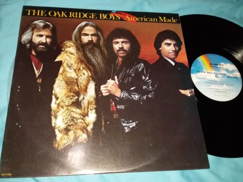 The Oak Ridge Boys, American Made, 12-inch Vinyl LP 33 rpm, Made in Singapore