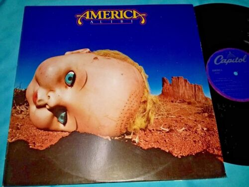 America, ALIBI, 12-inch Vinyl LP Record, 33 rpm, Made in USA