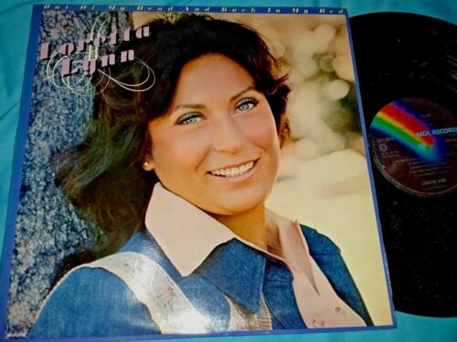 Loretta Lynn, Out Of My Head And Back In My Bed, 12-inch vinyl LP 33 rpm
