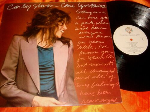 Carly Simon, Come Upstairs, 12-inch vinyl LP record, 33 rpm, Made in USA