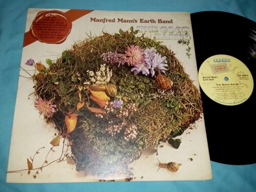 Manfred Mann's Earth Band THE GOOD EARTH 12-inch Vinyl LP 33 rpm Made in England