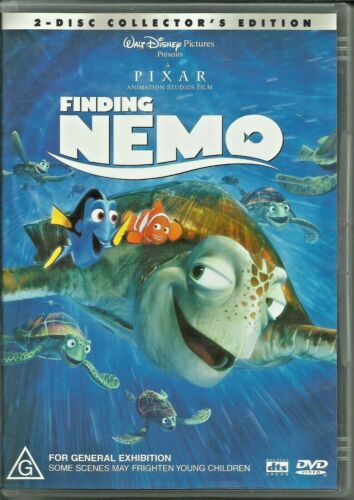 Finding Nemo (DVD, 2004) 2-Disc Collector's Edition