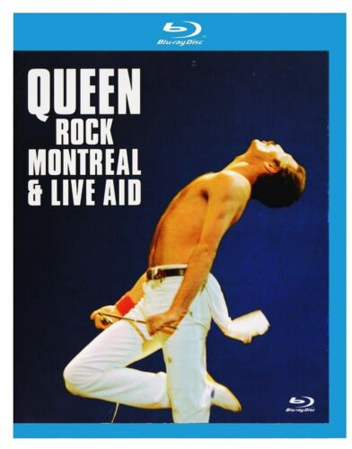 Queen Rock Montreal Live Aid (Freddie Mercury) New Region B Blu-ray