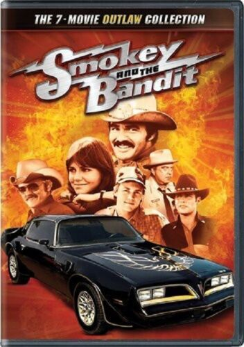 Smokey and the Bandit The 7 Movie Outlaw 1 2 3 4 5 6 7 Collection New Reg 1 DVD