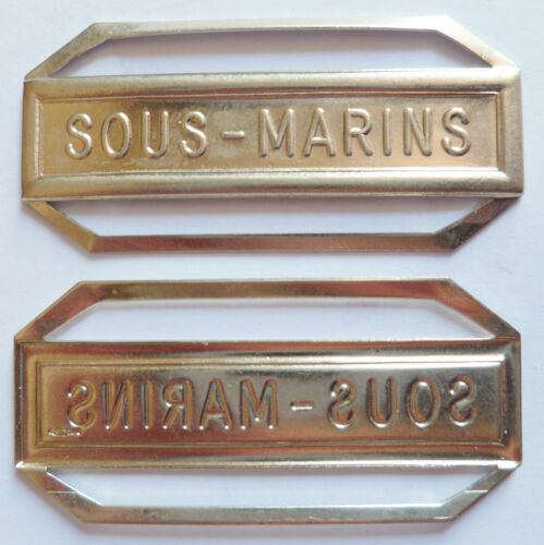 AGRAFE BARRETTE SOUS MARINS Médaille Marine SUBMARINE FRENCH MEDAL ORDER France