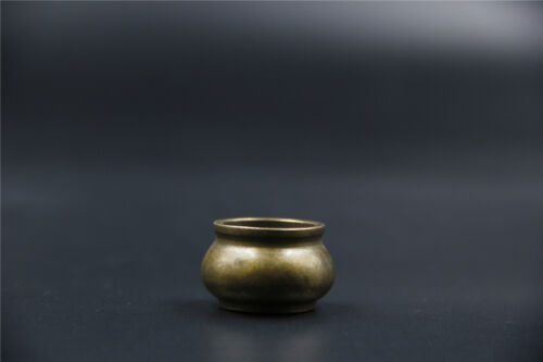 China old Collection bronze small xuande Incense burner xuan mark