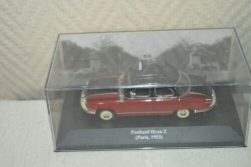 VOITURE COLLECTION  PANHARD DYNA Z TAXI MINIATURE 1/43 CAR DIES CAST ALTAYA
