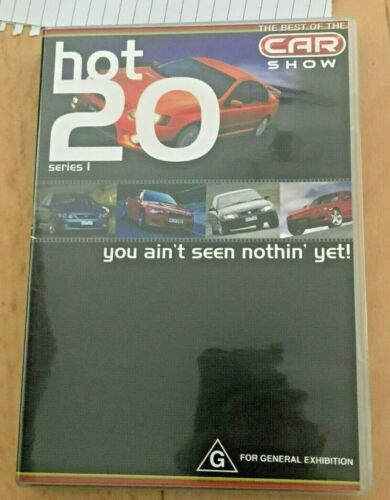 THE BEST OF THE CAR SHOW. HOT 20 SERIES 1 DVD.