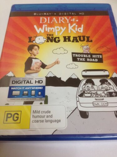 NEW SEALED The Diary Of A Wimpy Kid - Long Haul (DVD, 2017)