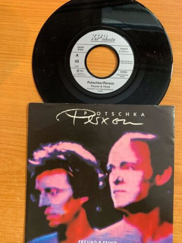 "Potschka / Person - Freund & Feind / 7"" Single in TOP Condition"