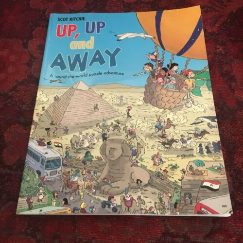 SCOT RITCHIE. UP, UP AND AWAY. 1921049014