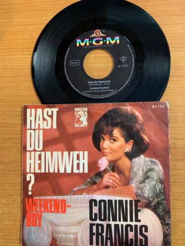 "Connie Francis - Hast Du Heimweh? / 7"" Single - 1. Pressung"