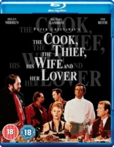 The Cook the Thief His Wife and Her Lover (Michael Gambon) & Region B Blu-ray