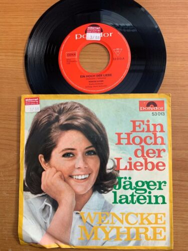 "Wencke Myhre - Ein Hoch Der Liebe / 7"" in good Condition"