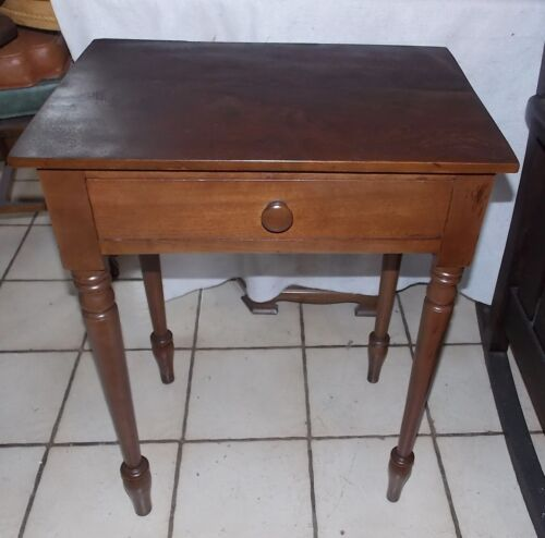 Solid Walnut Work Table / Side Table / End Table  (RP-T248)