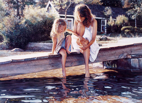 Steve Hanks - Touching The Surface S/N 1500 Edition Excellent COA Rare Hanks