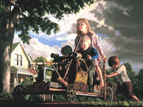 """Bob Byerley """" Up And Over """" Rare S/N  COA  950 in edition Save $$$"""