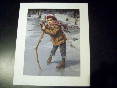 """Jim Daly """" On Thin Ice """"  # 32/950   MINT $550 Value"""