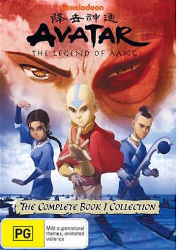 AVATAR The Last Airbender BOOK 1 : NEW DVD