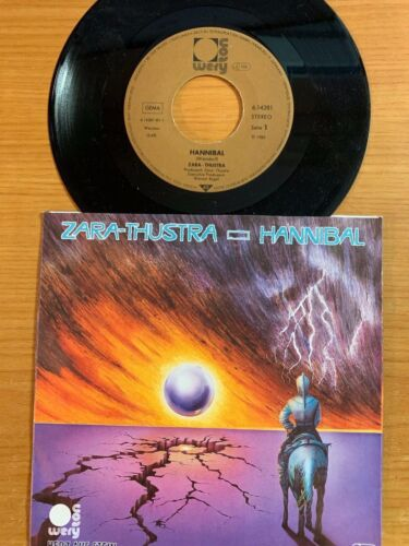 "Zara-Thustra - Hannibal / 7"" Single - 1. German-Pressing - TOP Condition"