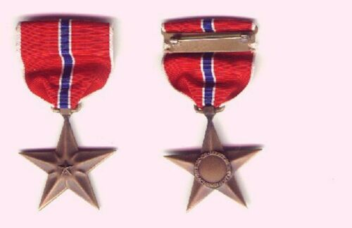 US WWII BRONZE STAR MEDAL slot broach mount Other Militaria - 135
