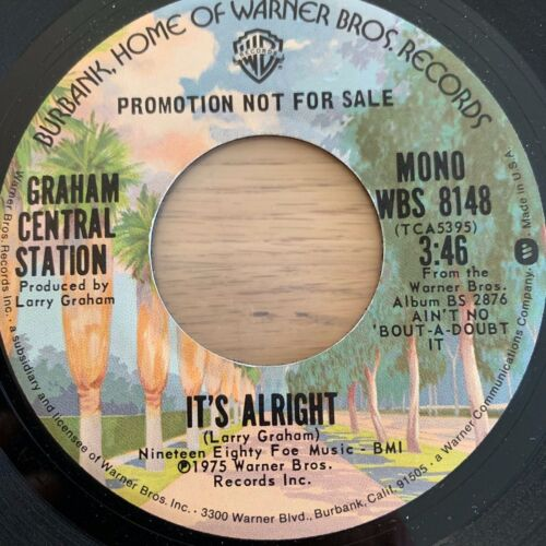 "Graham Central Station - It's Alright / 7"" Promo - TOP condition"
