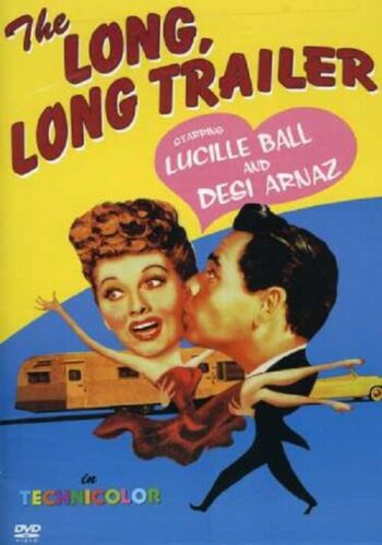 The Long Long Trailer (Lucille Ball, Desi Arnaz, Marjorie Main) New Region 4 DVD