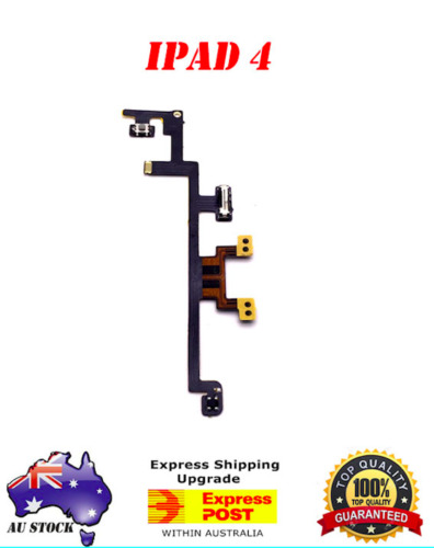 OEM iPad 4 Power Volume Button On Switch Flex Cable Mute Replacement