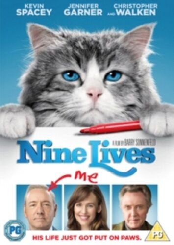 Nine Lives (Kevin Spacey, Jennifer Garner, Malina Weissman) 9 New Region 2 DVD