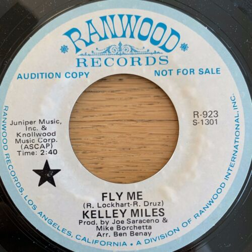 "Kelley Miles - Fly Me / 7"" - Promo - 1. US-Pressing"