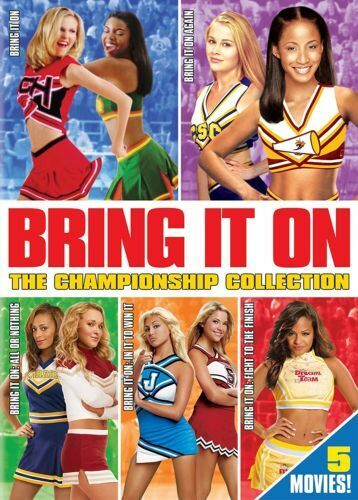 Bring It On The Championship Collection 1 2 3 4 5 Kirsten Dunst New Region 1 DVD