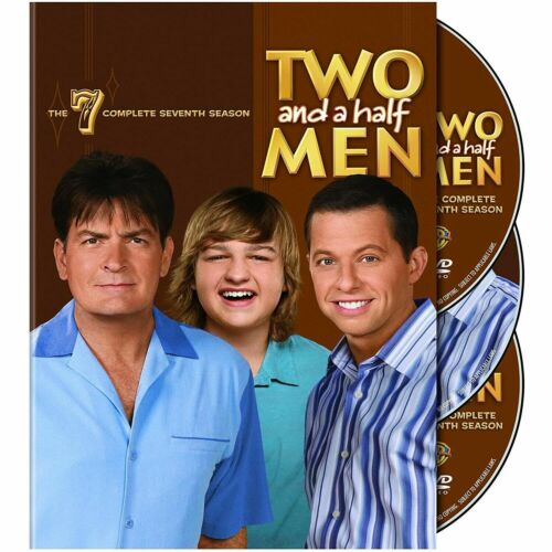 Two and a Half Men Season 7 Series Seven Seventh (Charlie Sheen) & Region 4 DVD