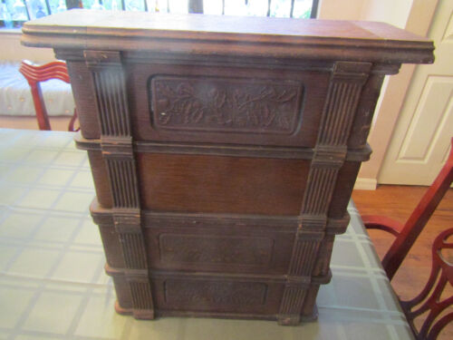 Antique Singer Sewing Box
