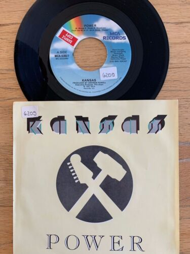 "Kansas - Power / 7"" - 1. US-Pressing 1987 /  TOP condition"