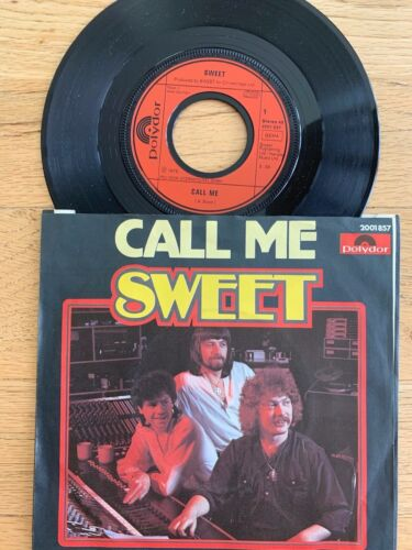 """Sweet - Call Me // 7"""" - 1. German-Pressing 1979 - TOP condition"""