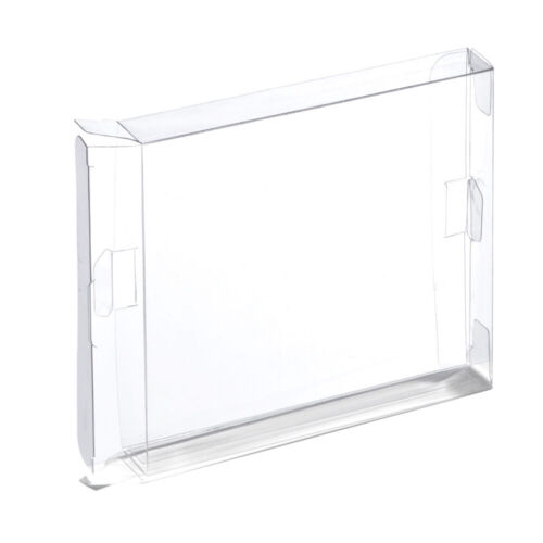 Display box for Game Boy, Color & Advance Nintendo - 2 pack clear   ZedLabz