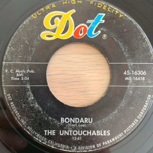 "Untouchables - Bondaru / 7"" - 1. US-Pressing 1961"