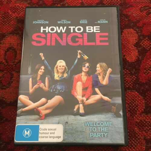 HOW TO BE SINGLE DVD,