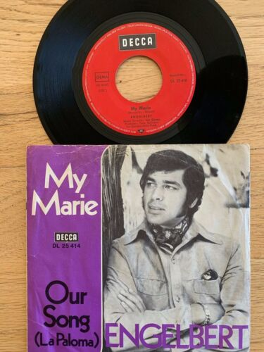 "Engelbert - My Marie // 7"" - 1.German-Pressing 1970"