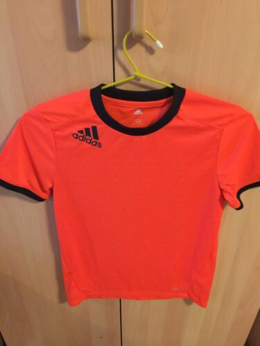 Red adidas Big Boys Youth Climalite Court Precision Tee