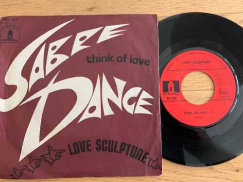 "Love Sculpture - Sabre Dance / 7"" - 1.French-Pressing 1968"