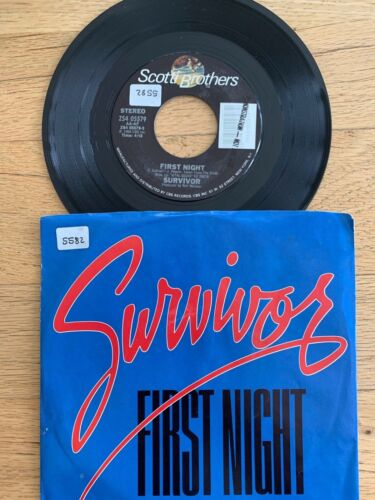 "Survivor - First Night // 7"" - 1.US-Pressing 1984 - TOP"