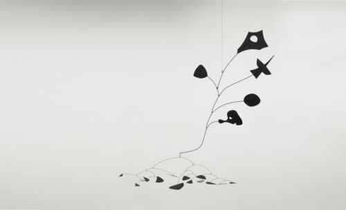 Untitled, 1945 by Alexander Calder Art Print Abstract Poster 11x14