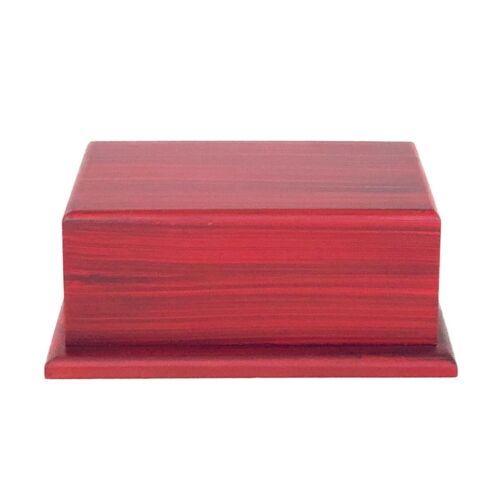 Well Lived™ Cherry Wood Adult Cremation Urn for human ashes