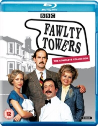Fawlty Towers Season 1 2 Series One Two (John Cleese) New Region B Blu-ray
