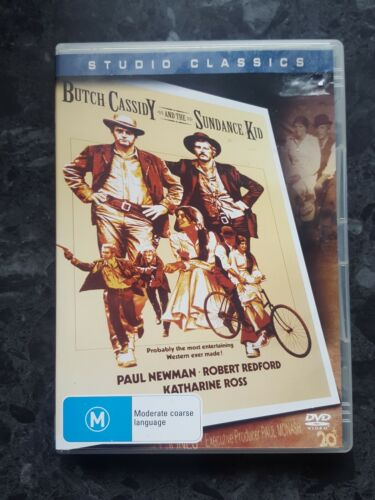 Butch Cassidy And The Sundance Kid (Dvd,Region 4) vgc free postage